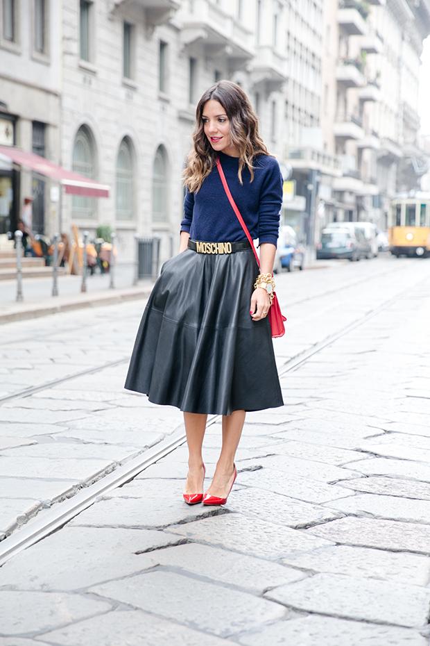moschino zara mfw milan fashion week street style 12