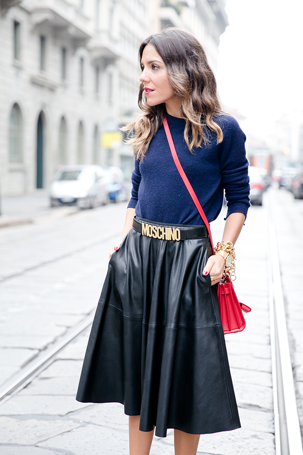 moschino zara mfw milan fashion week street style 2
