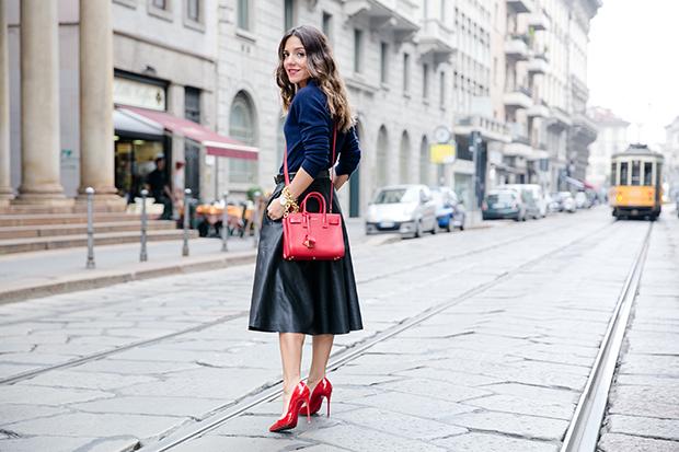 moschino zara mfw milan fashion week street style 4