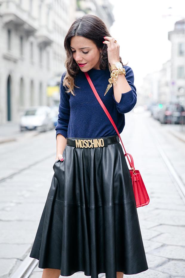 moschino zara mfw milan fashion week street style 6
