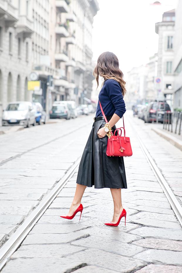 moschino zara mfw milan fashion week street style 9