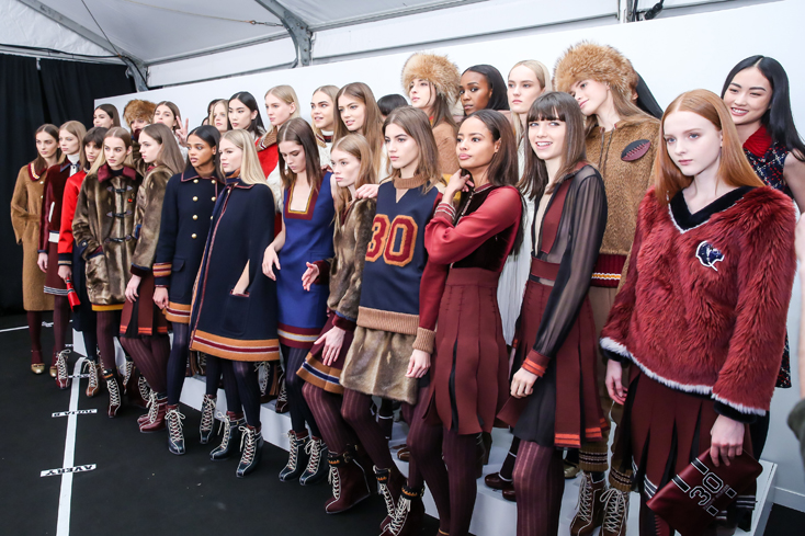 TOMMY HILFIGER Fall  2015 Womens Collection - BACKSTAGE