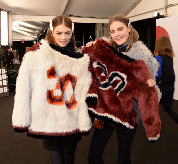 Tommy Hilfiger Women's Collection - Backstage - Mercedes-Benz Fashion Week Fall 2015