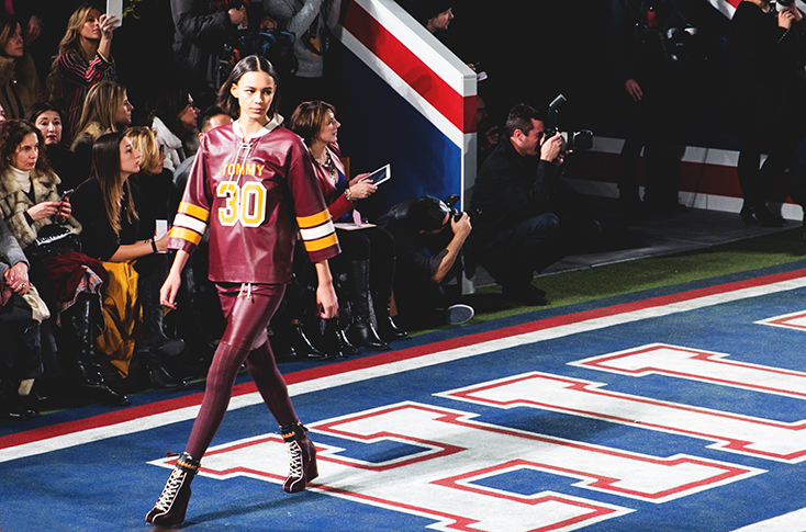Tommy show fall winter 15- c